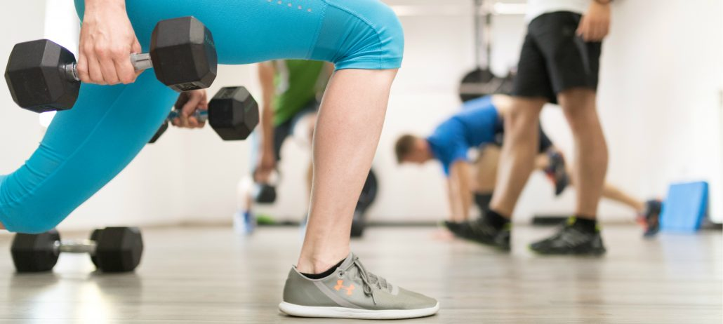 Skupinska vadba moči