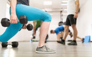 Intenzivna vadba izpadni korak