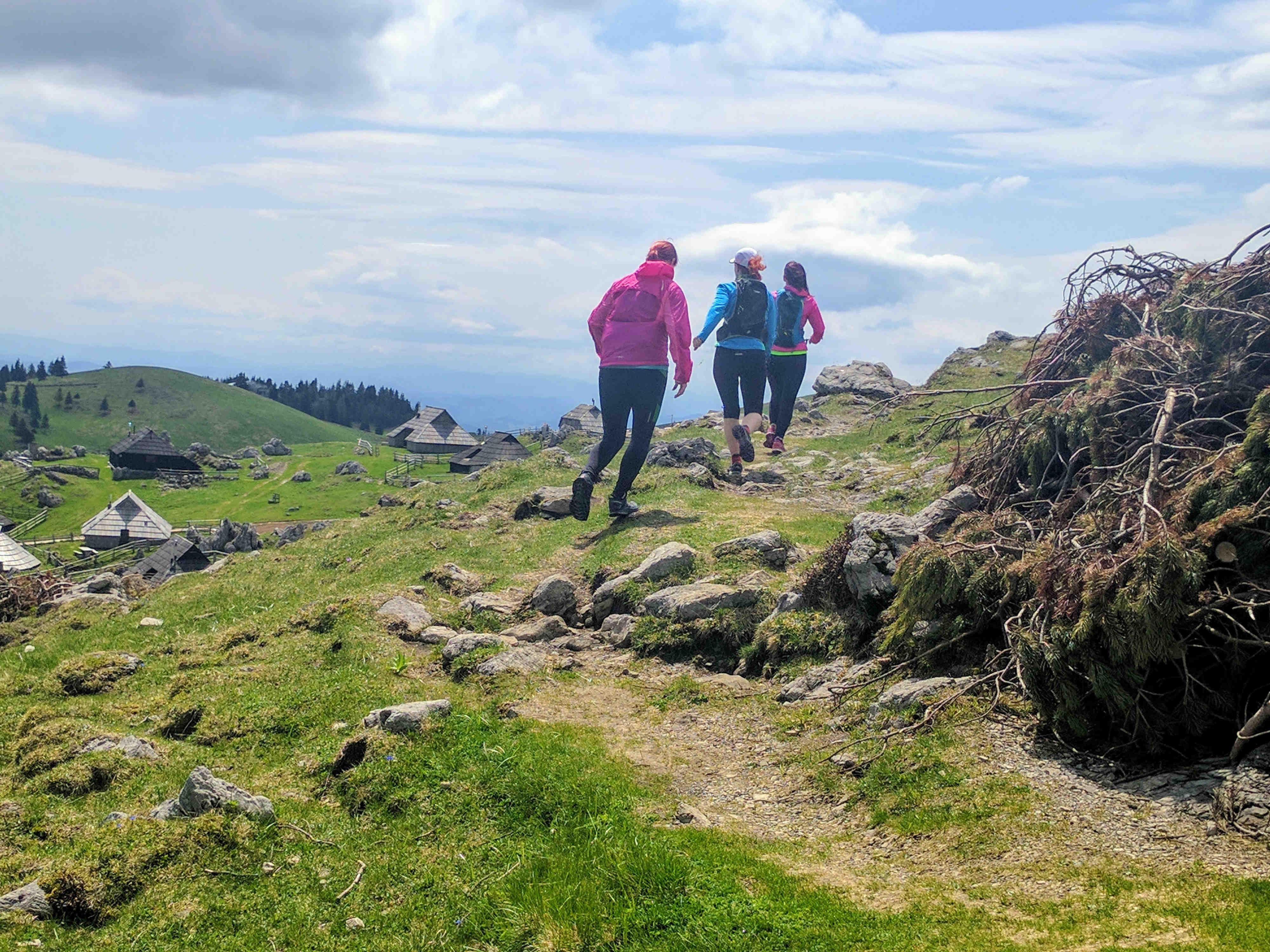 Trail-tek-po-Veliki planini