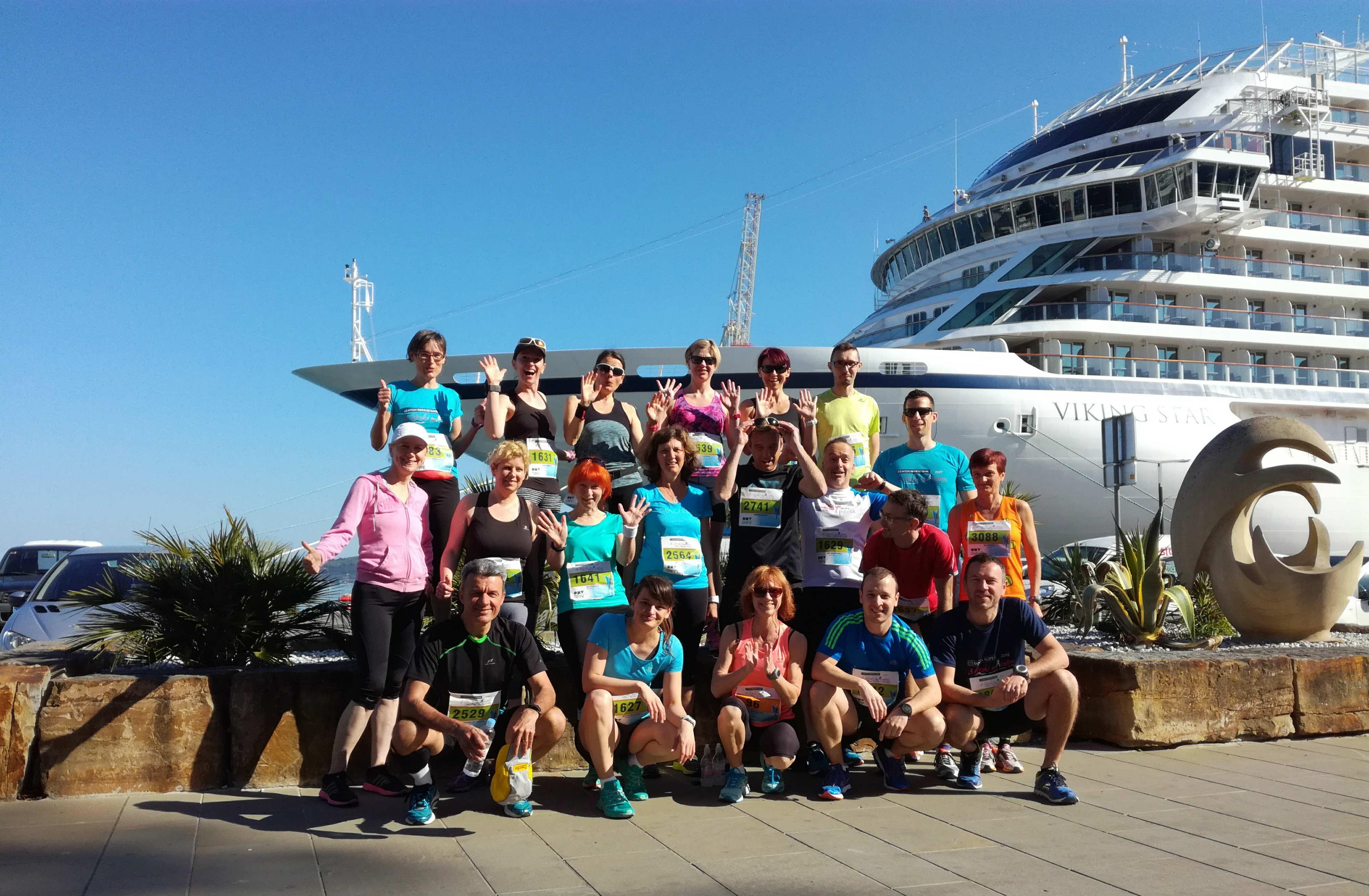 Istrski maraton skupinska slika KinVital