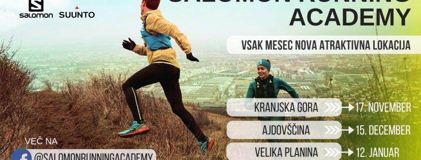 Tekaška trail akademija, ki je namenjena izkušenim tekačem kot tekačem začetnikom.