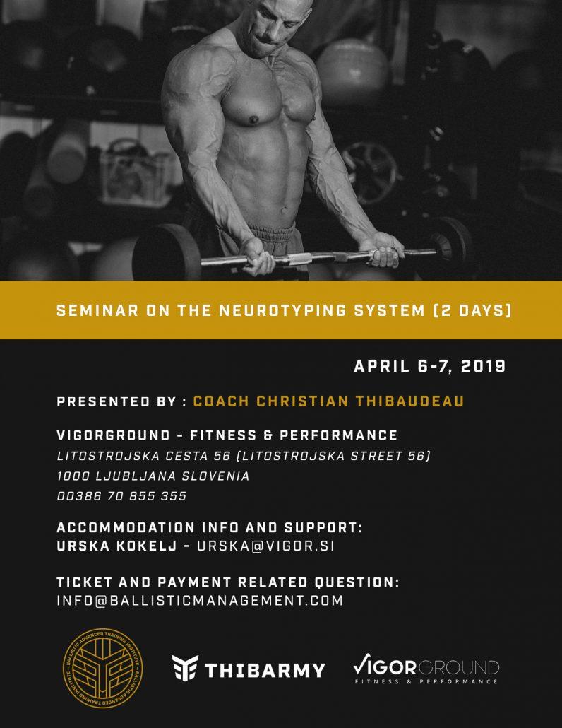 Christian Thibaudeau - The Neurotyping System Seminar - KinVital